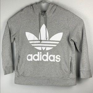 Adidas Trefoil Grey Hoodie
